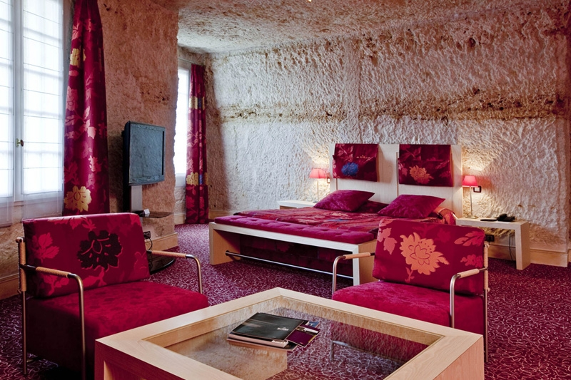 Chambre luxe troglodytique n10